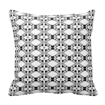 http://www.zazzle.com/black_and_white_patterned_throw_pillow-189515455068668670